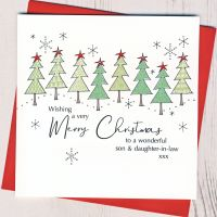 <!-- 007-->Son & Daughter-in-Law or Partner Christmas Card