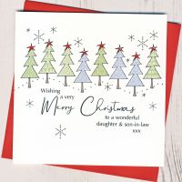 <!-- 009-->Daughter & Son-in-Law or Partner Christmas Card