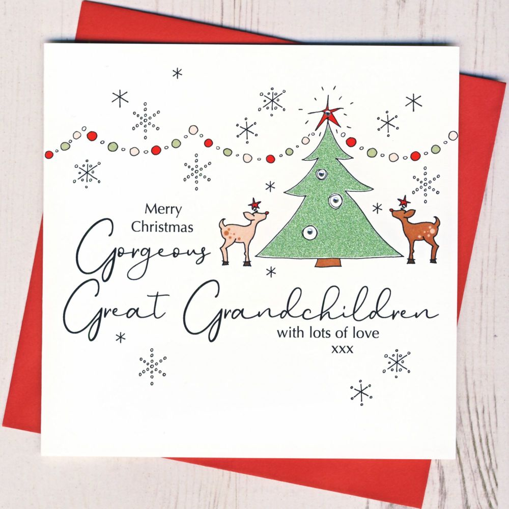 <!-- 005-->Great-Grandson Christmas Card