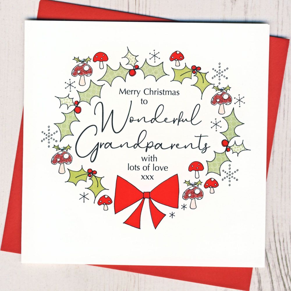 <!-- 001-->Grandparents Christmas Card