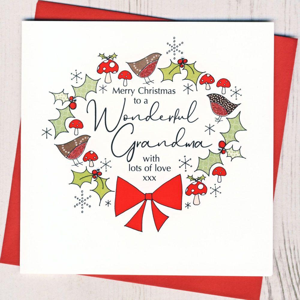 <!-- 001-->Grandma Christmas Card