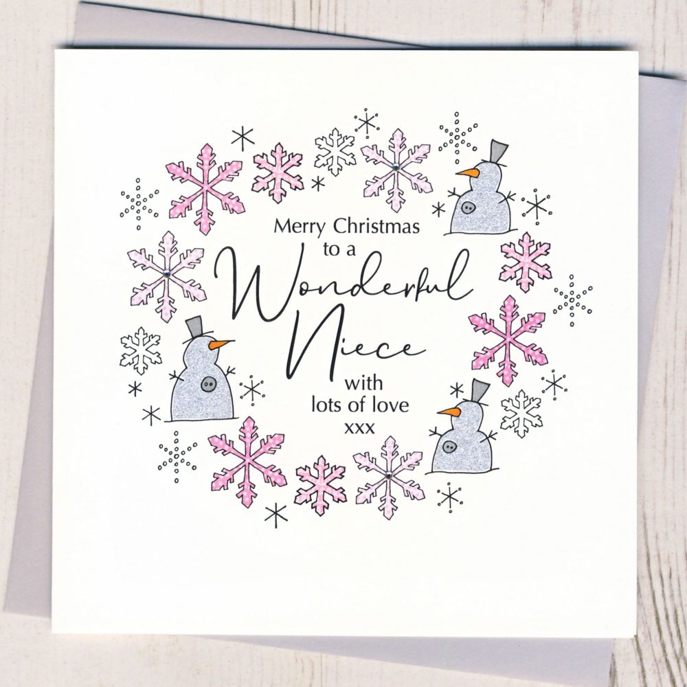 <!-- 001-->Niece Christmas Card