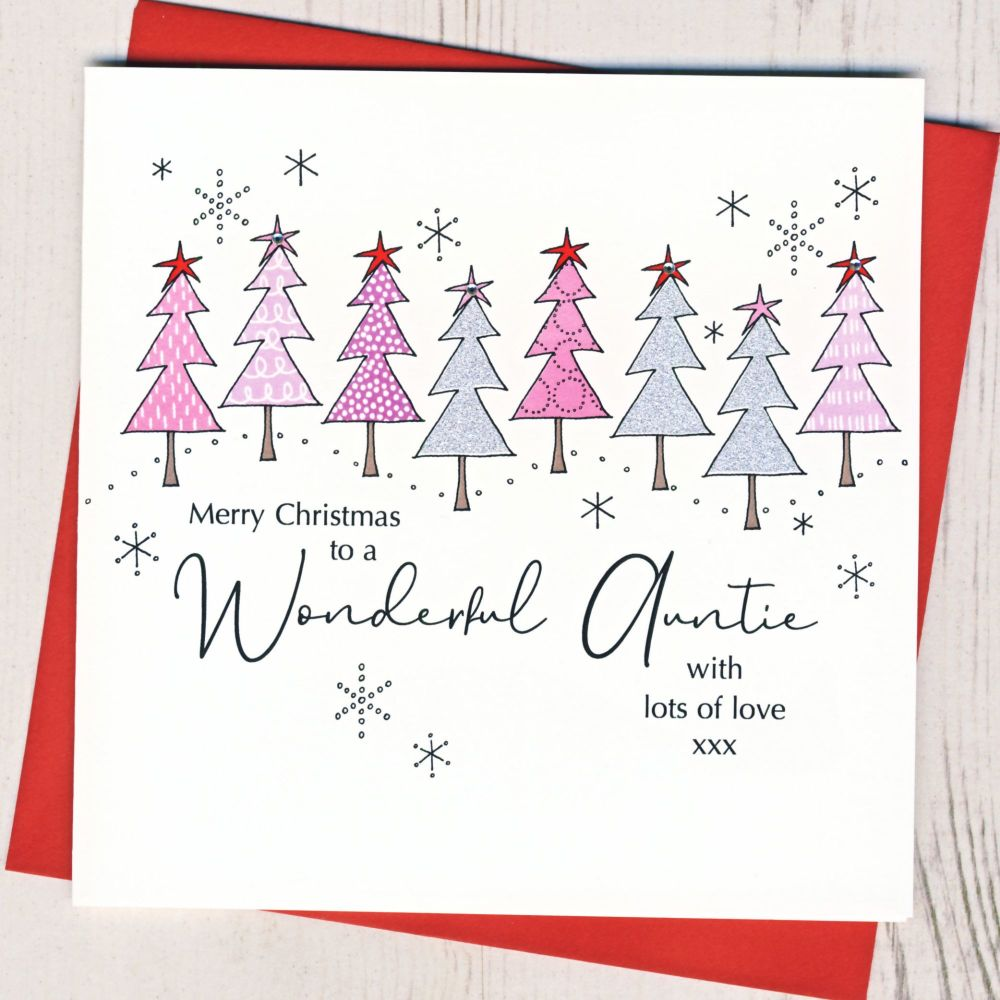 <!-- 001-->Auntie Christmas Card