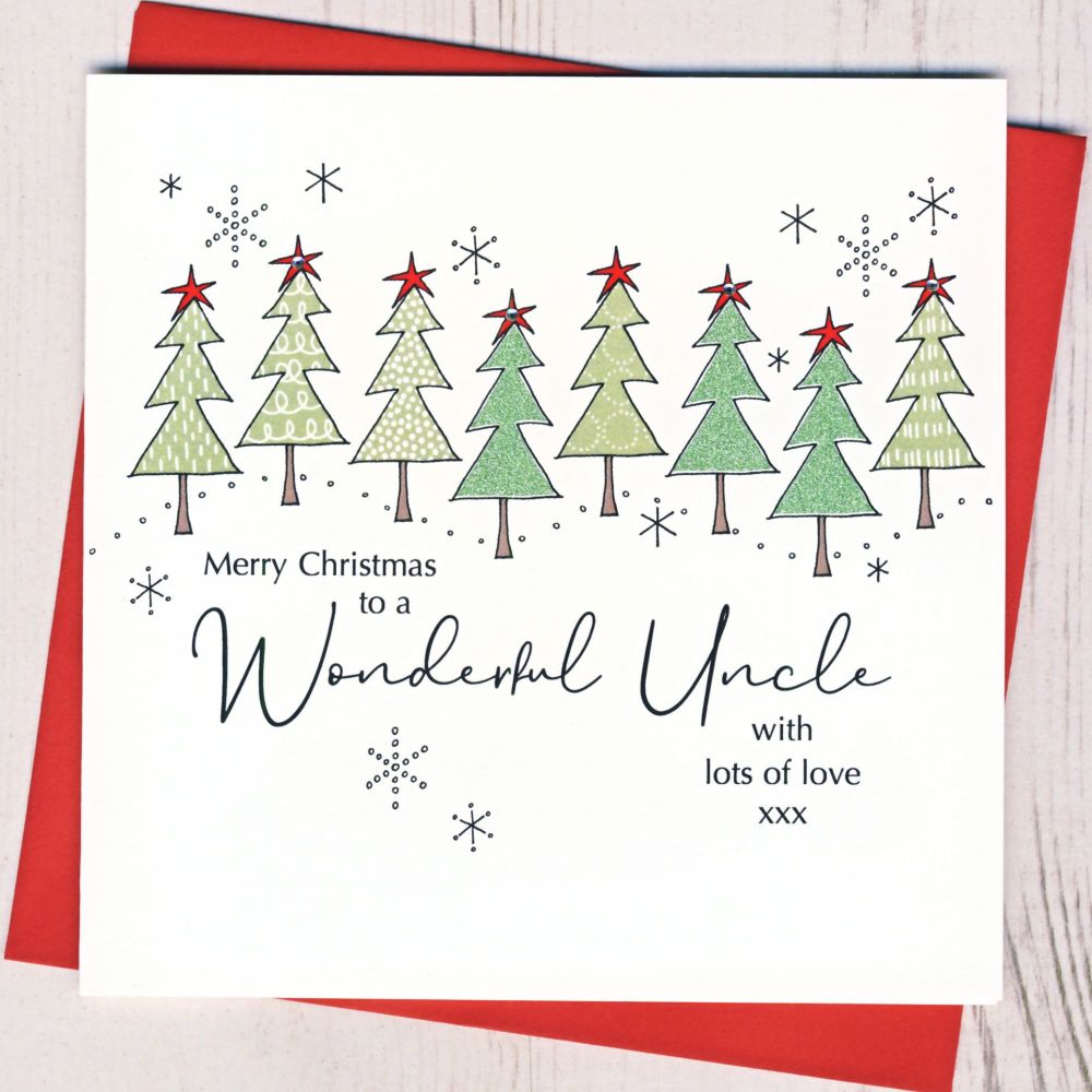 <!-- 001-->Uncle Christmas Card