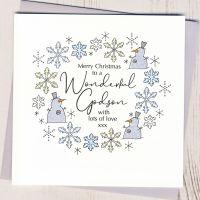 <!-- 001-->Godson Christmas Card