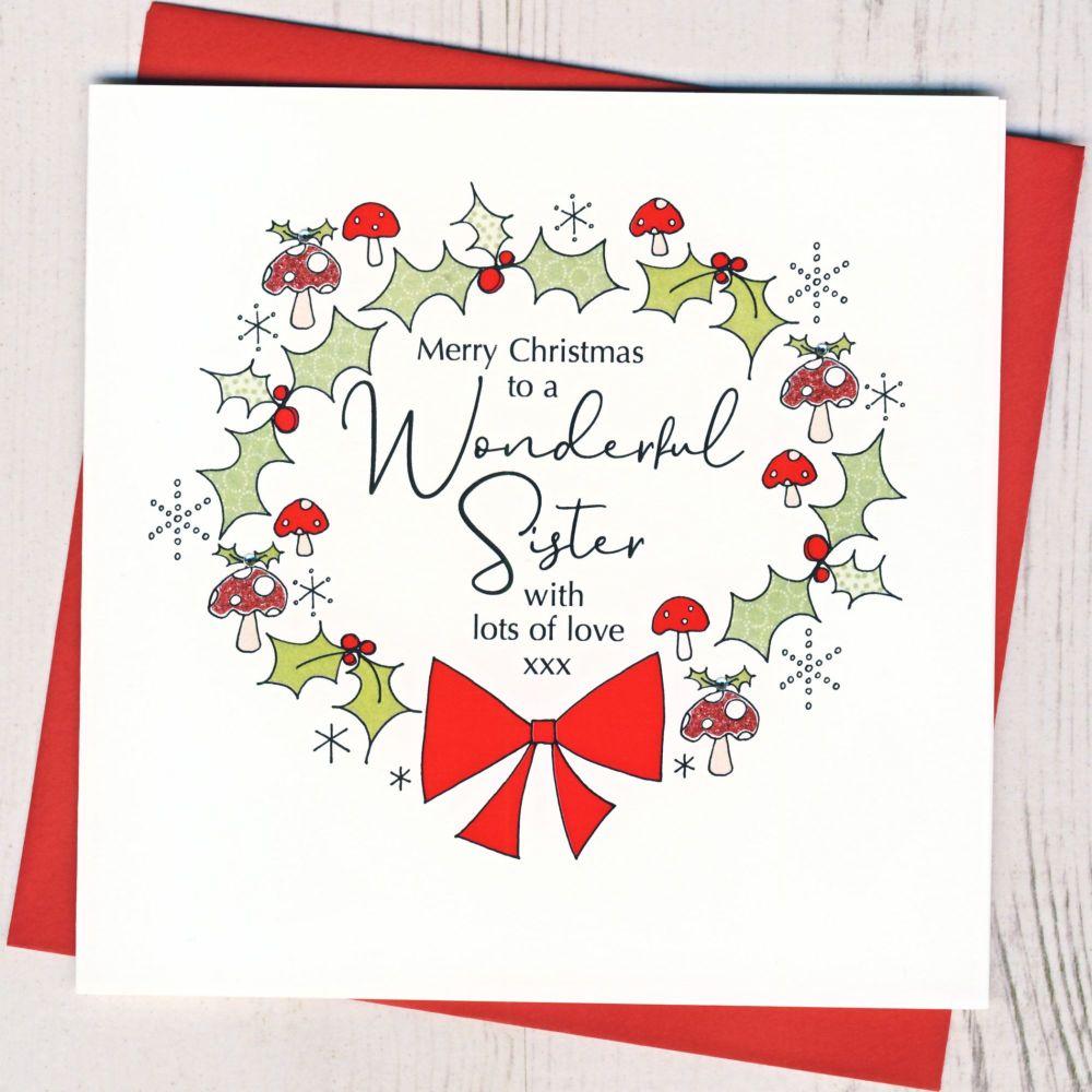 <!-- 001 -->Sister Christmas Card