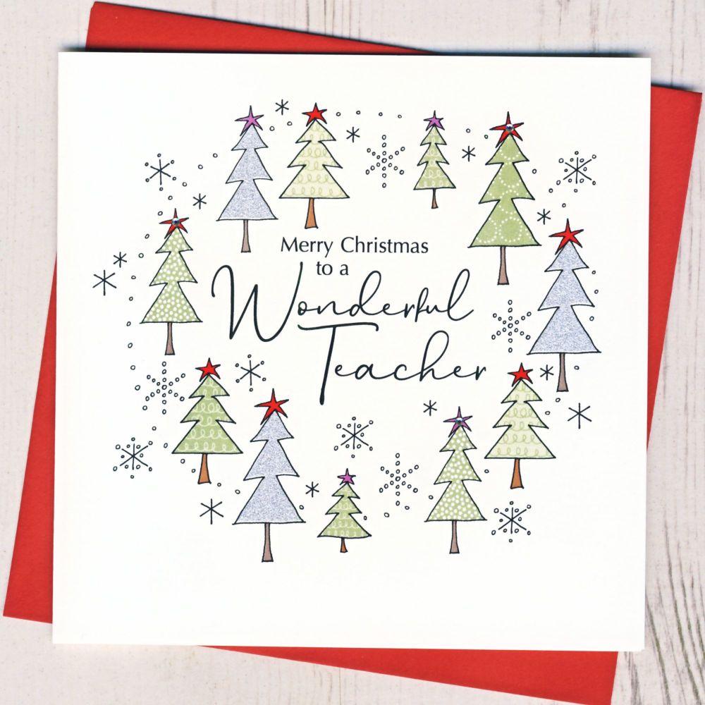 <!-- 001-->Teacher Christmas Card