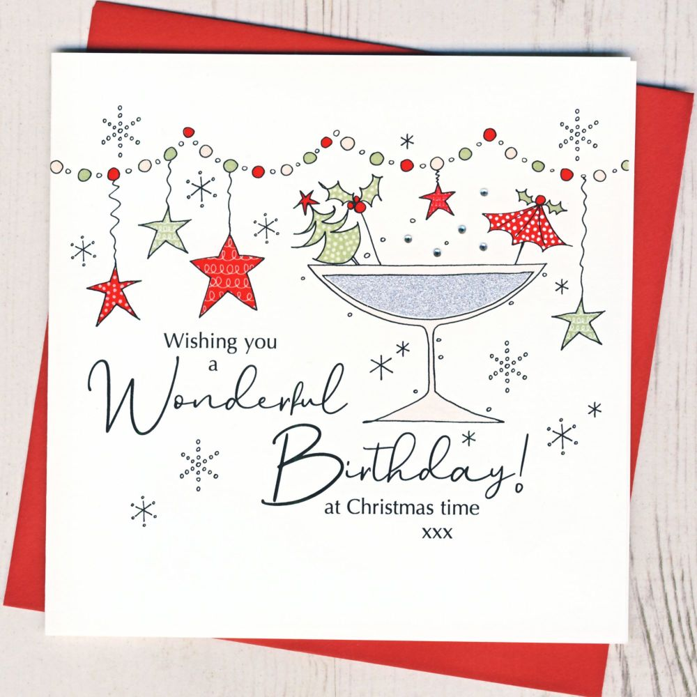 <!-- 001-->Christmas Birthday Card