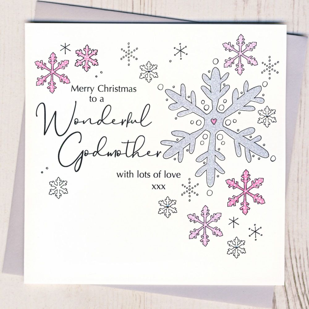 <!-- 001--> Godmother Christmas Card