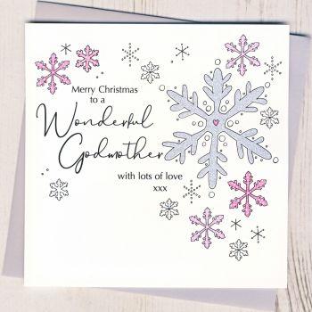 Godmother Christmas Card