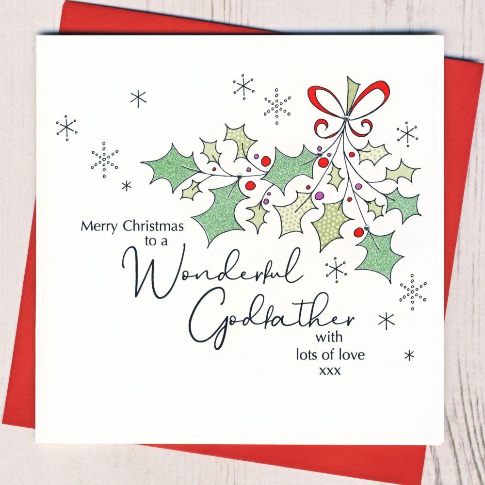 <!-- 002--> Godfather Christmas Card