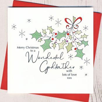 Godfather Christmas Card