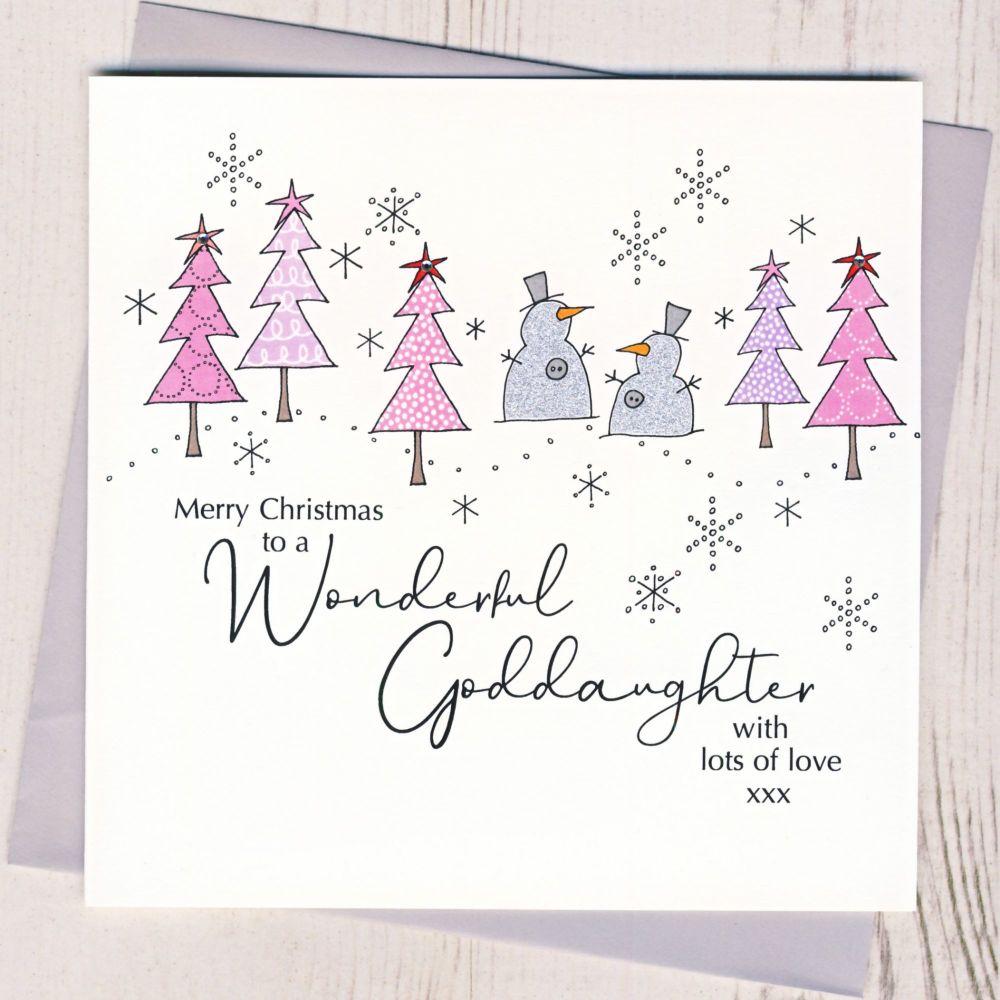 <!-- 001--> Goddaughter Christmas Card