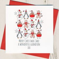 <!-- 005--> Personalised Merry Christmas Characters