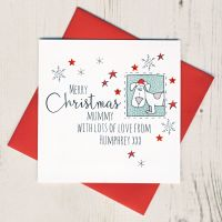 <!-- 001-->Personalised Christmas Card From The Dog or Dogs