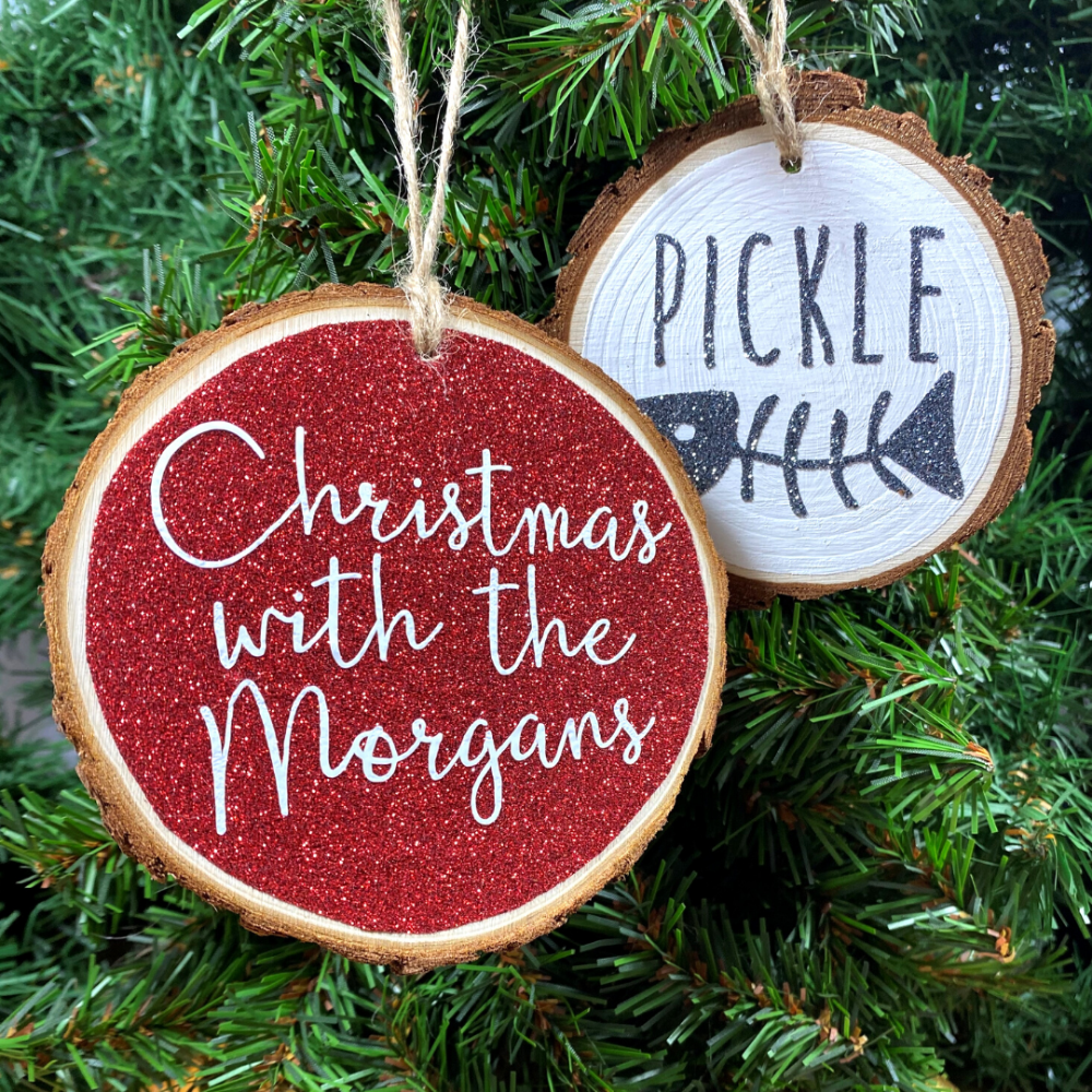 Personalised Hanging Decorations