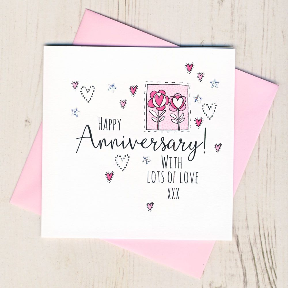 <!-- 001 --> Happy Anniversary Card
