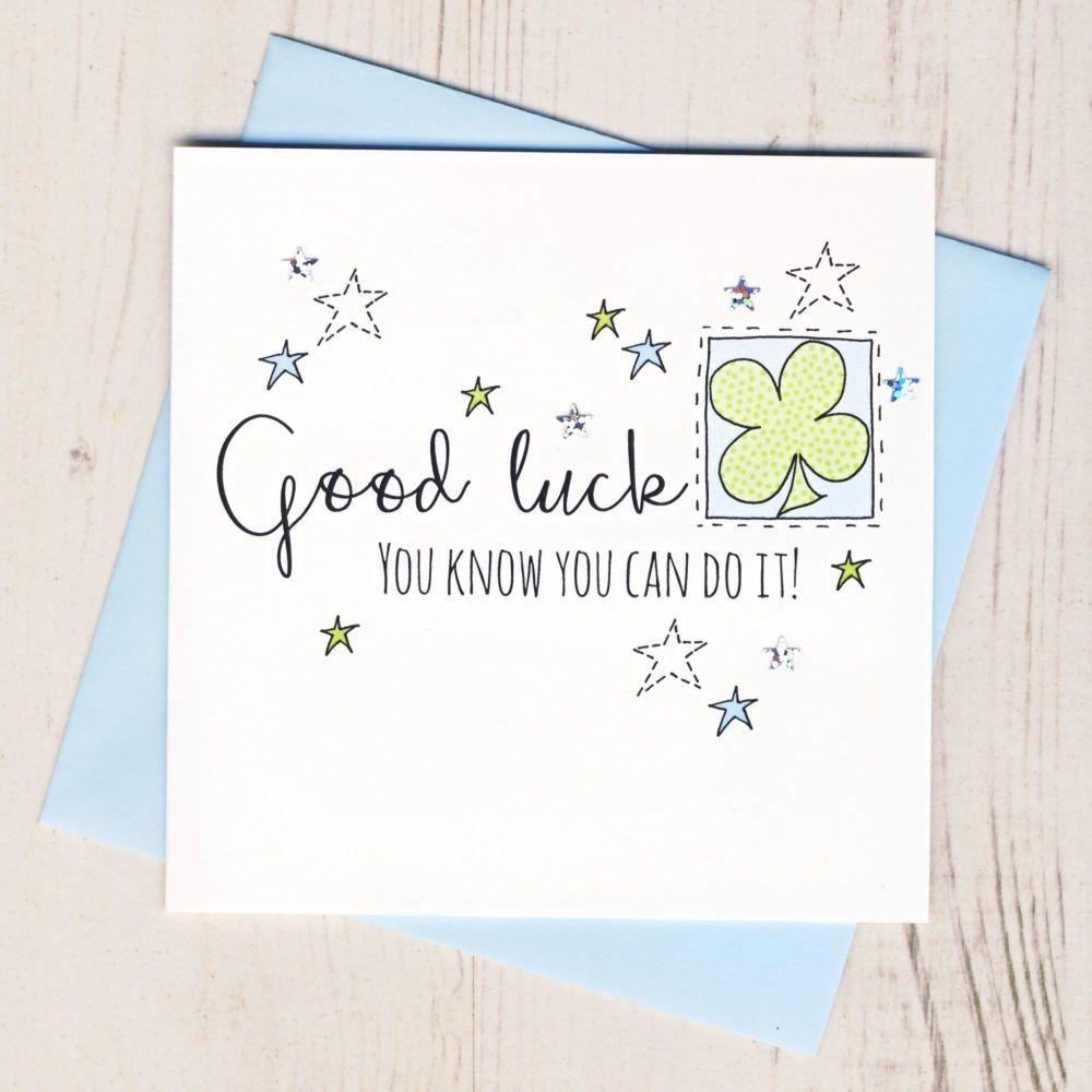 <!-- 000 --> Good Luck Card