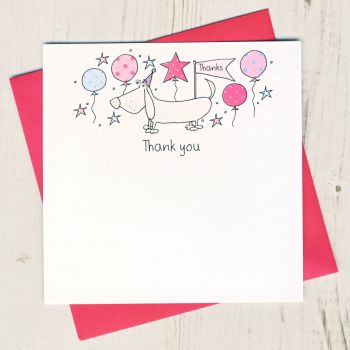 Pack of Dog  Thank You Cards