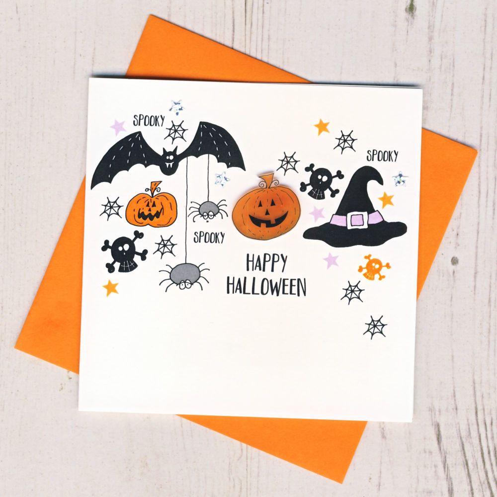 <!-- 001 -->Spooky Halloween Card