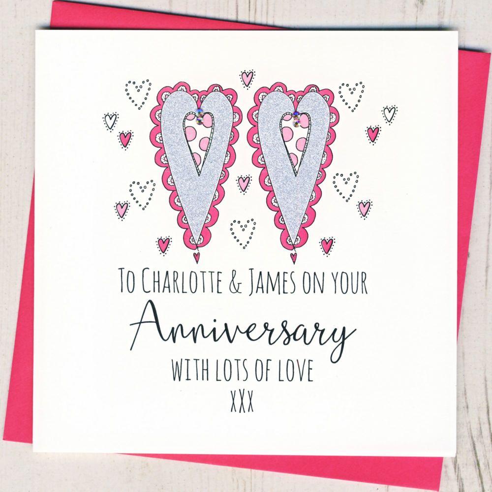 Personalised Happy Anniversary
