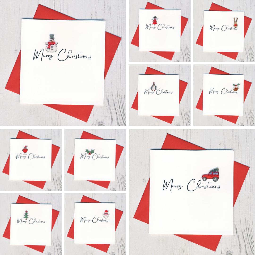 Ten Handmade Christmas Cards