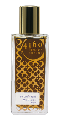 4160Tuesdays perfume Be Careful What You Wish For in gold bottle