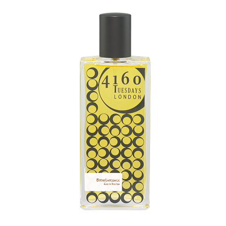 4160Tuesdays perfume in black bottle