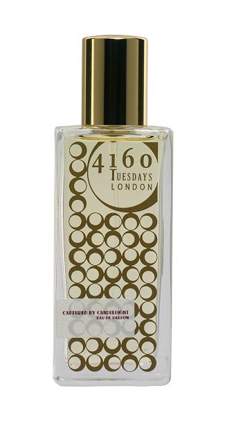 Gold bottle of 4160Tuesdays perfume
