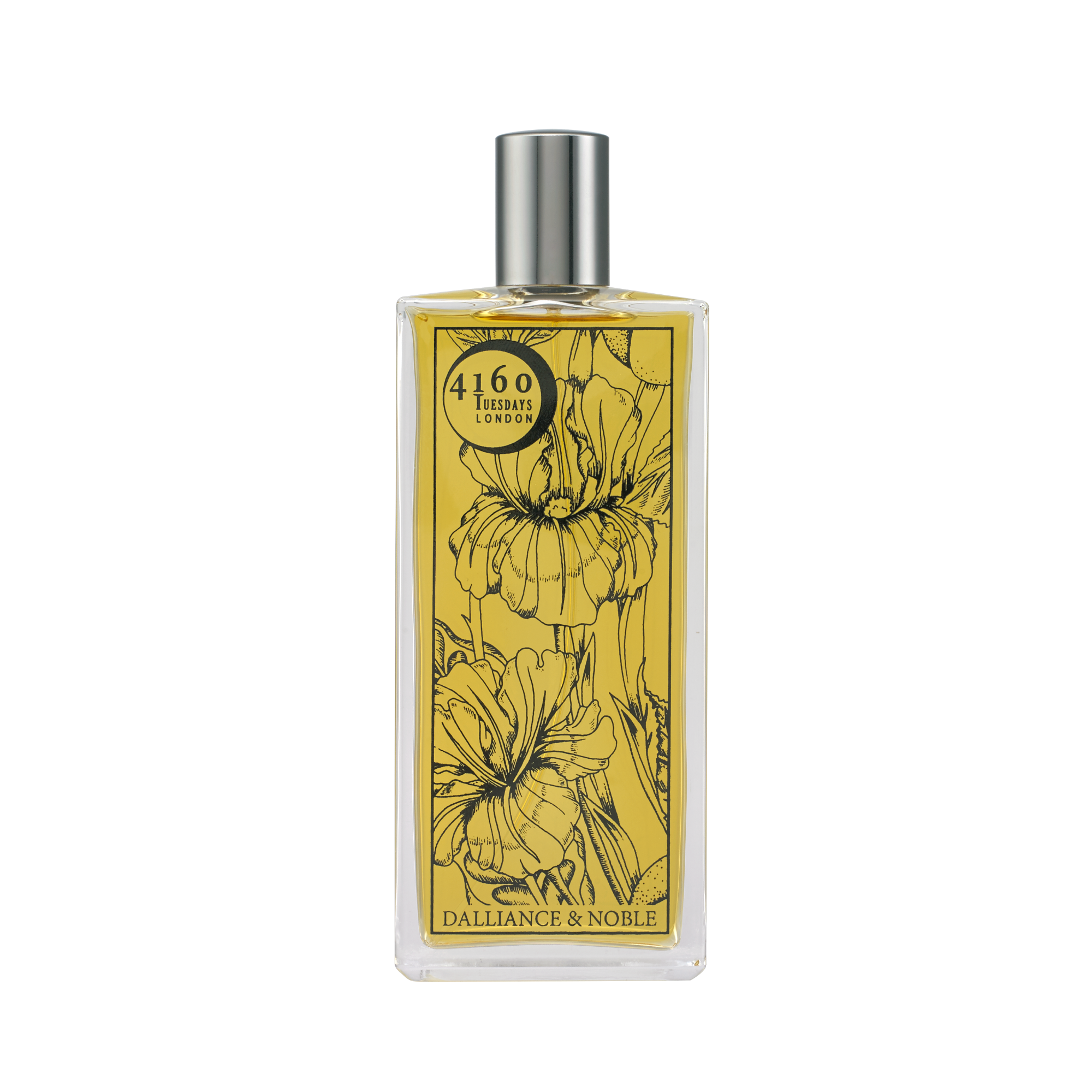 4160Tuesdays perfume in limited edition, floral printed bottle.