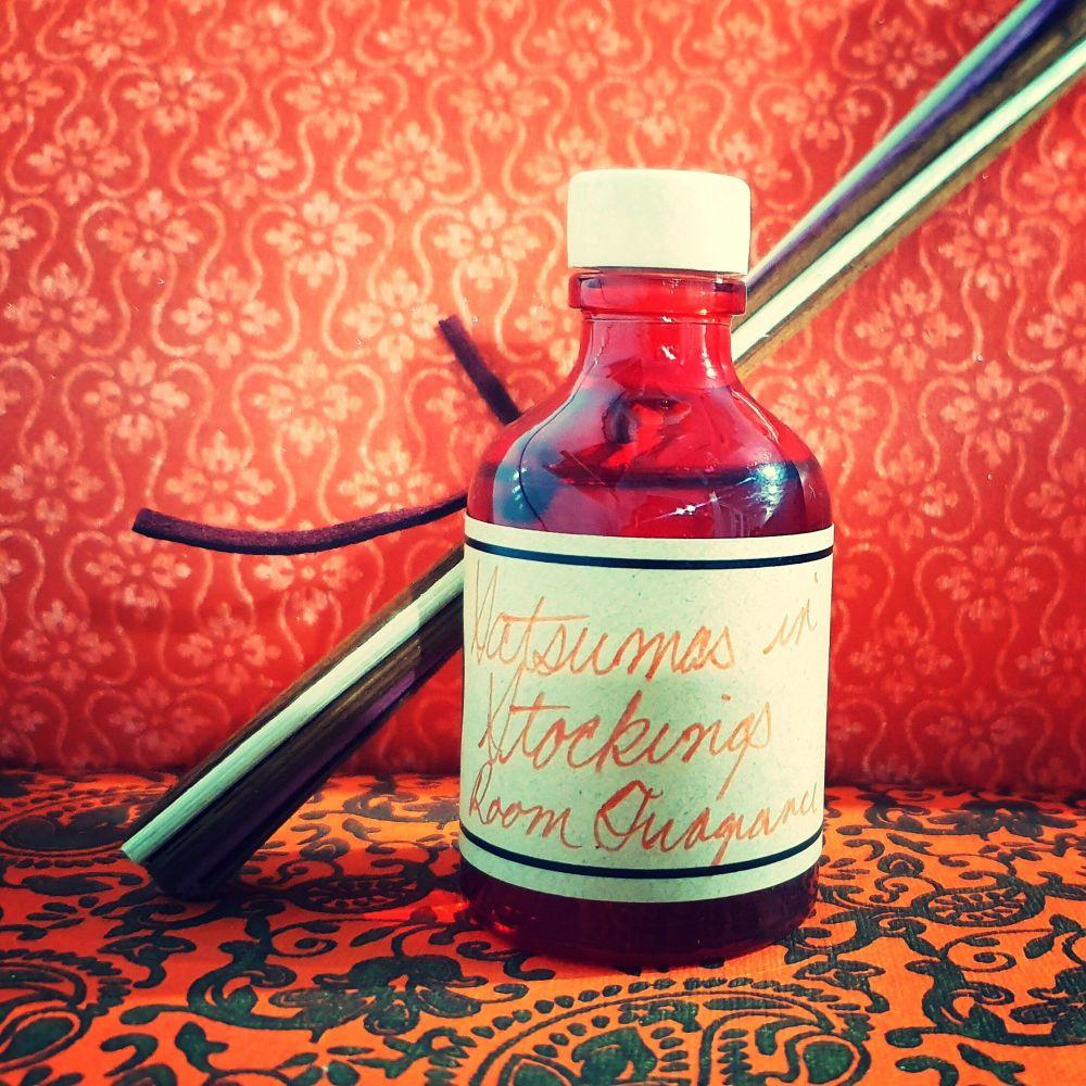 Satsumas in Stockings - Home Fragrance 50ml bottle