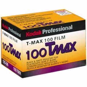 KODAK T MAX 100 ISO 36 EXP 35MM BW FILM