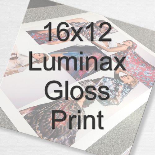 16x12 Luminax Gloss Print