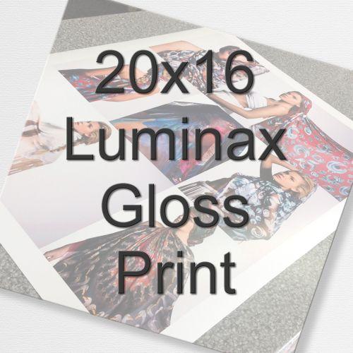 20x16 Luminax Gloss Print