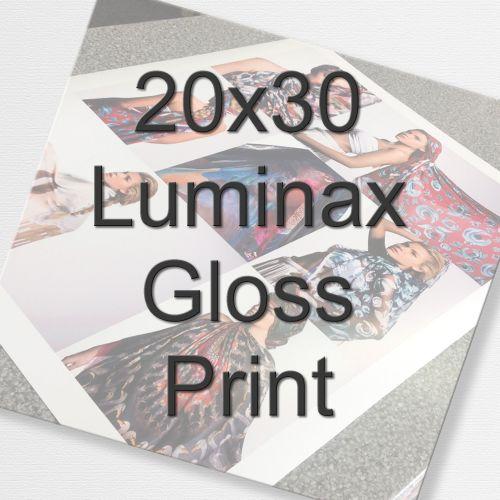 20x30 Luminax Gloss Print