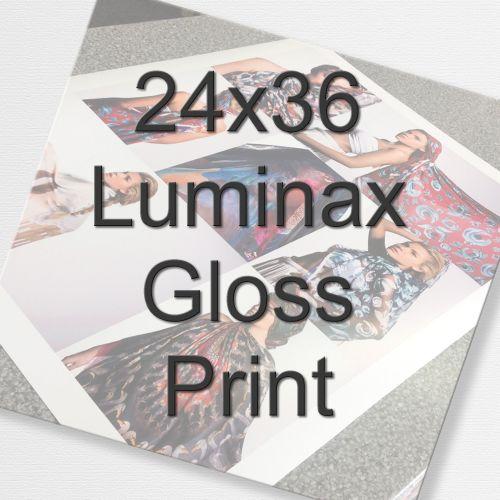 24x36 Luminax Gloss Print