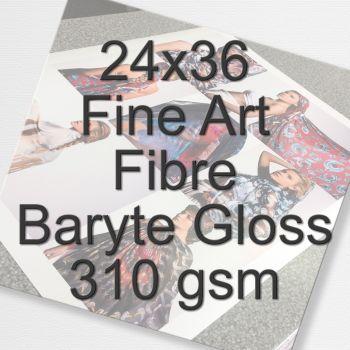24X36 Fine Art Fibre Baryte Gloss 310 gsm