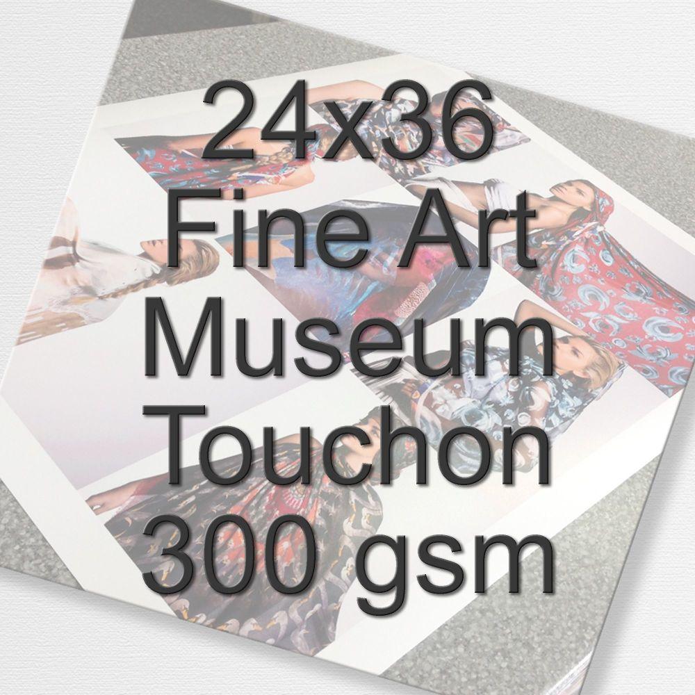 24x36 Fine Art Museum Touchon 300 gsm