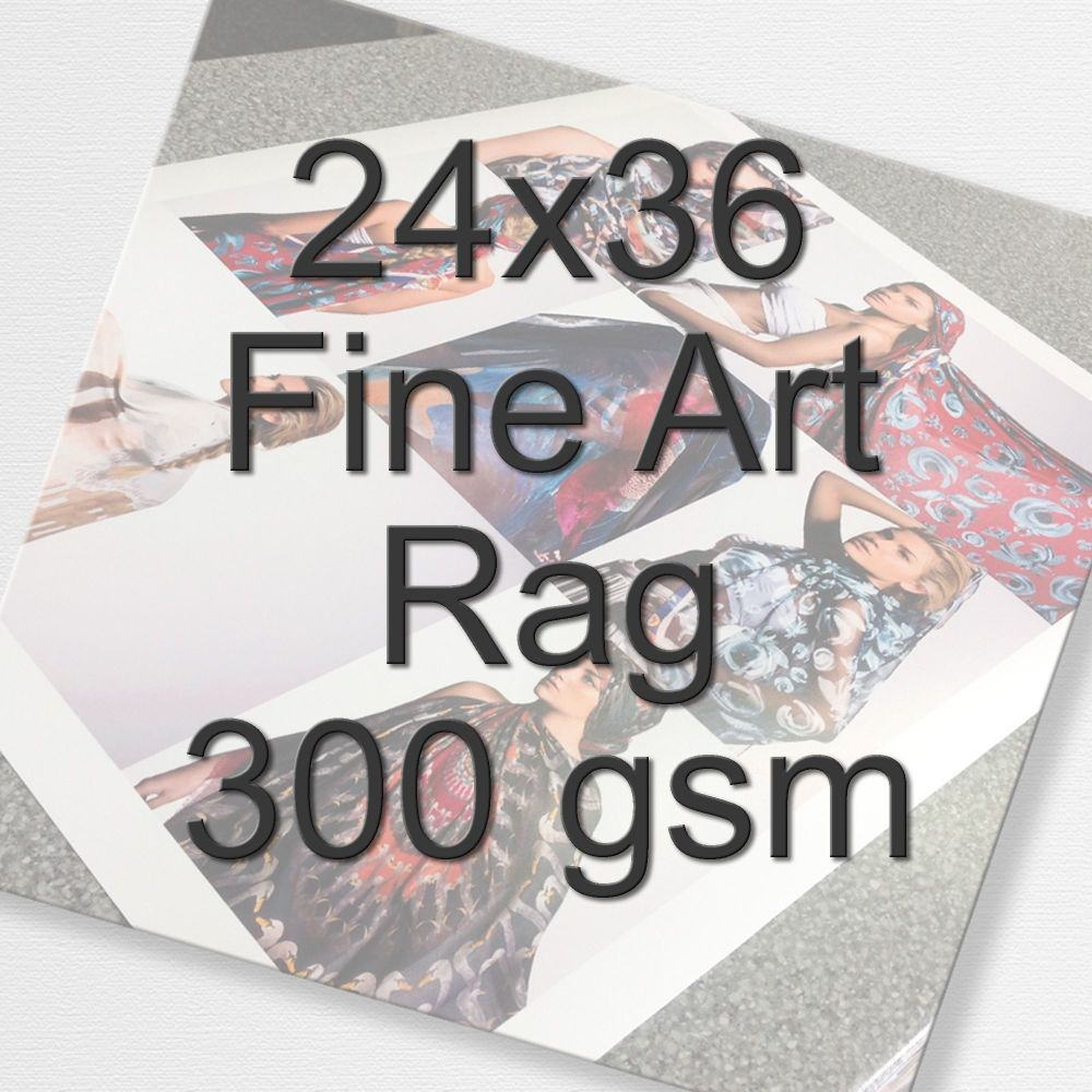 24x16 Fine Art Rag 300 gsm