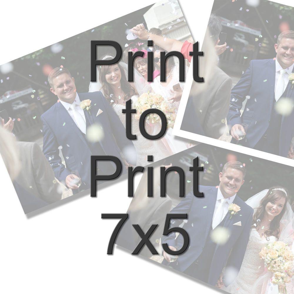 PRINT TO PRINT 7X5
