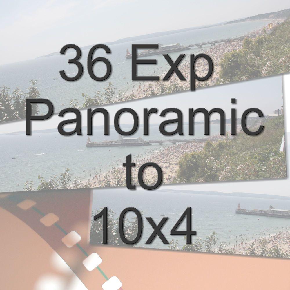 36 EXPOSURE COLOUR FILM TO 10X4