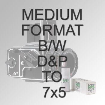 "MEDIUM FORMAT B/W D&P TO 7X5"""