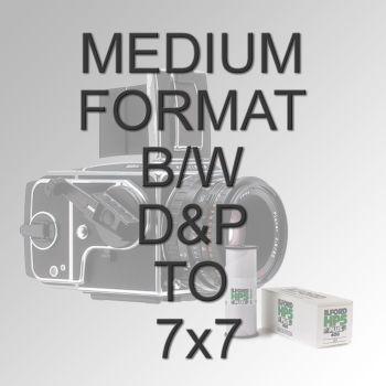"MEDIUM FORMAT B/W D&P TO 7X7"""