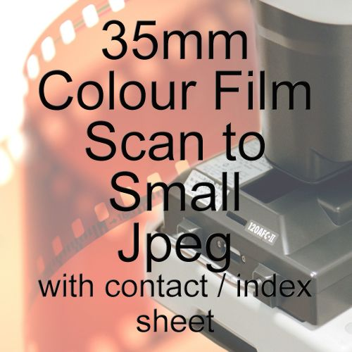 35mm 1.9mb JPEG COLOUR FILM PROCESS AND SCAN INC CONTACT SHEET