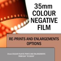 35mm COLOUR RE-PRINTS & ENLRGEMENTS
