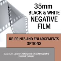 35mm Black and White Re-Prints & Enlargements