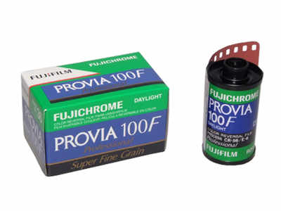 FUJICHROME PROVIA 100F 135 36 EXP SINGLE FILM