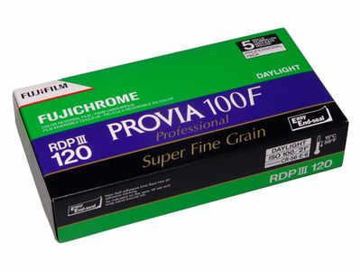 FUJICHROME PROVIA 100F 120 ROLL 5 PACK