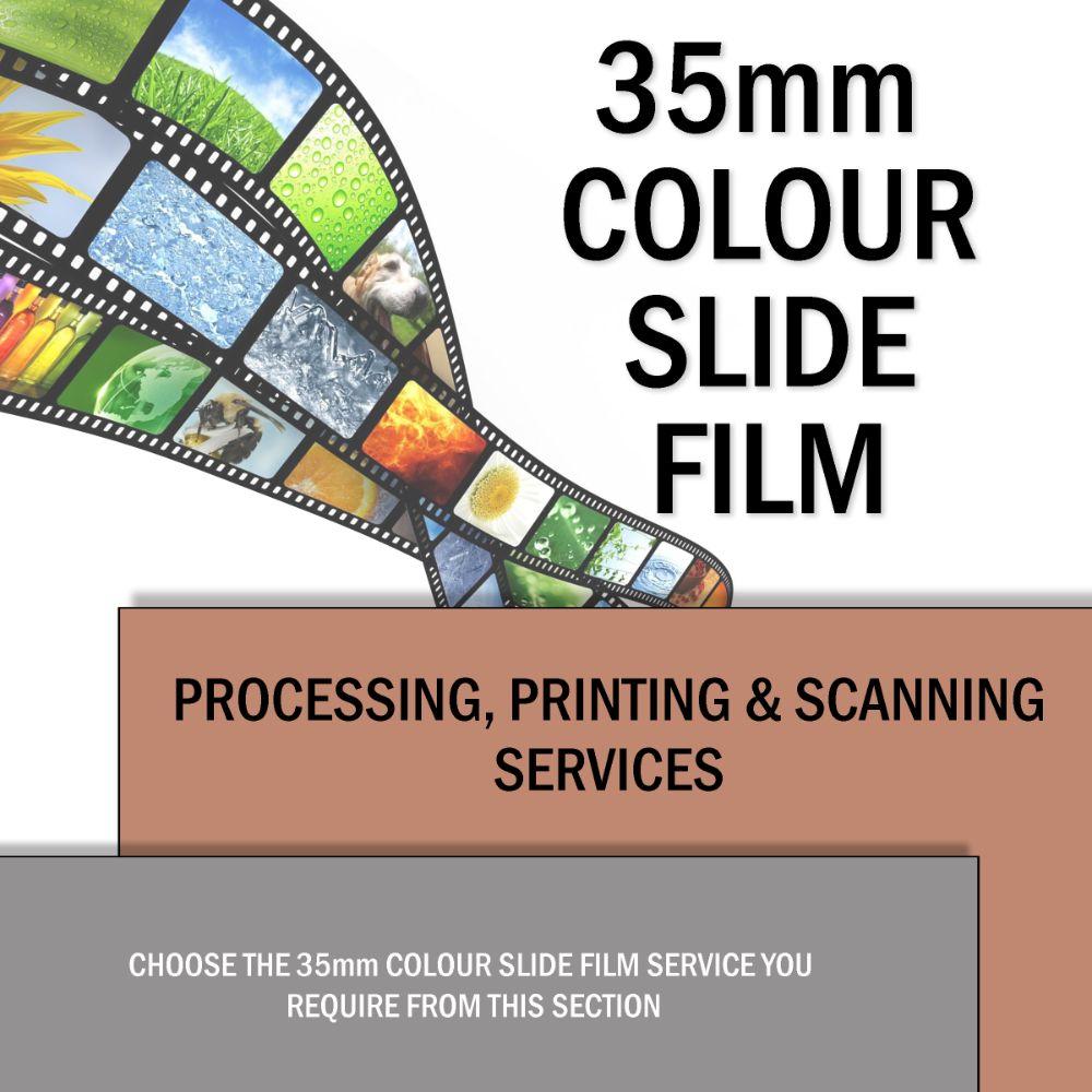 35mm Slide Film Processing & Scanning
