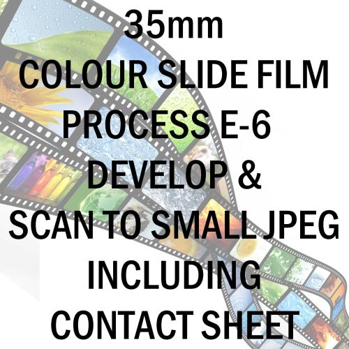 35mm COLOUR SLIDE FILM E-6 DEVELOP AND SCAN TO 1.9mb PER FRAME JPEG C-D INC